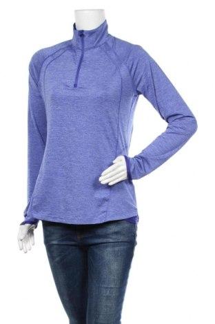 Дамска спортна блуза Active By Tchibo, Размер M, Цвят Син, 88% полиестер, 12% еластан, Цена 14,18лв.