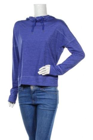 Дамска спортна блуза Active By Tchibo, Размер S, Цвят Син, 88% полиестер, 12% еластан, Цена 17,64лв.