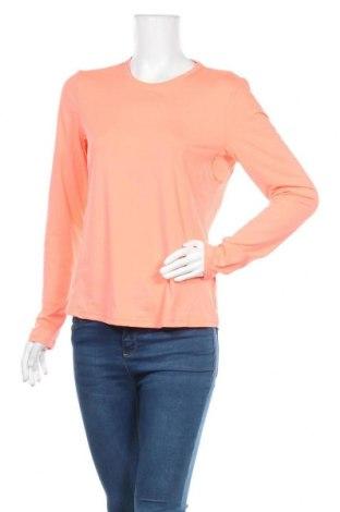 Дамска спортна блуза Active By Tchibo, Размер M, Цвят Оранжев, 88% полиестер, 12% еластан, Цена 17,64лв.