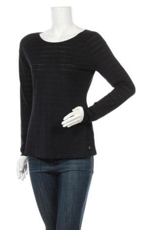 Дамска спортна блуза Essentials by Tchibo, Размер M, Цвят Черен, 67% полиестер, 33% вискоза, Цена 14,18лв.