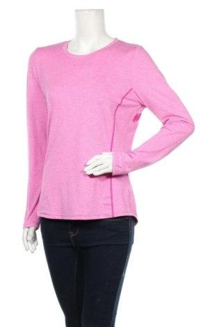 Дамска спортна блуза Essentials by Tchibo, Размер M, Цвят Розов, 8% полиестер, 12% еластан, Цена 16,96лв.