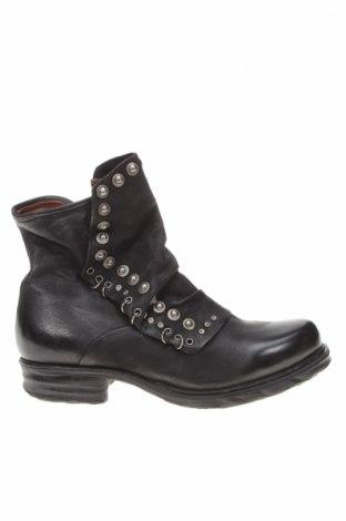 Дамски боти A.S. 98, Размер 40, Цвят Черен, Естествена кожа, Цена 390,00лв.