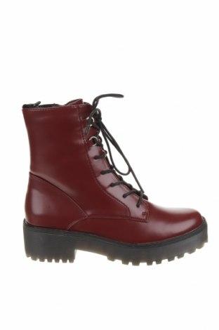 Dámské boty  Even&Odd, Velikost 38, Barva Červená, Eko kůže, Cena  1033,00Kč