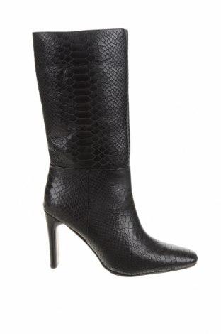 Дамски ботуши Bronx, Размер 38, Цвят Черен, Естествена кожа, Цена 194,50лв.
