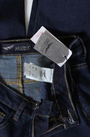 Дамски дънки Arizona, Размер S, Цвят Син, 74% памук, 24% полиестер, 2% еластан, Цена 16,96лв.