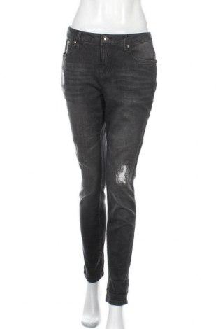 Дамски дънки Body Flirt, Размер M, Цвят Сив, 98% памук, 2% еластан, Цена 11,39лв.