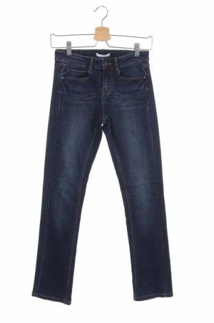 Дамски дънки Camaieu, Размер XS, Цвят Син, 99% памук, 1% еластан, Цена 7,98лв.