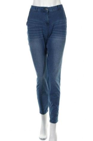 Дамски дънки Gina Benotti, Размер S, Цвят Син, 77% памук, 19% полиестер, 4% еластан, Цена 8,26лв.
