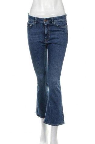 Дамски дънки Mih Jeans, Размер M, Цвят Син, 98% памук, 2% еластан, Цена 55,50лв.