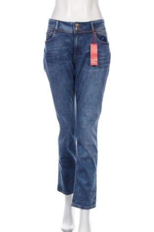 Dámské džíny  S.Oliver, Velikost XL, Barva Modrá, 98% bavlna, 2% elastan, Cena  944,00Kč