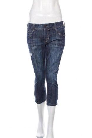 Дамски дънки Sinequanone, Размер L, Цвят Син, 99% памук, 1% еластан, Цена 11,48лв.