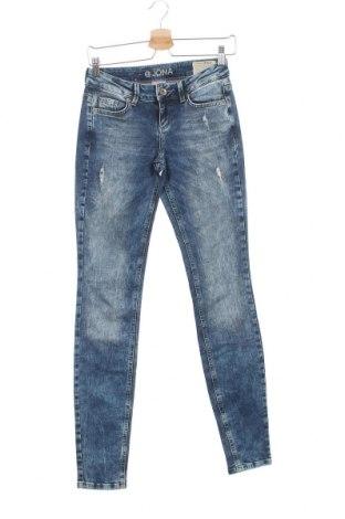Дамски дънки Tom Tailor, Размер S, Цвят Син, 98% памук, 2% еластан, Цена 9,45лв.