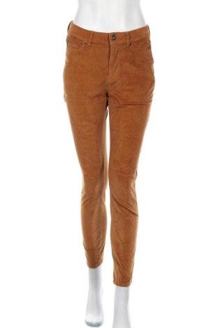 Дамски джинси Amisu, Размер S, Цвят Кафяв, Цена 8,39лв.