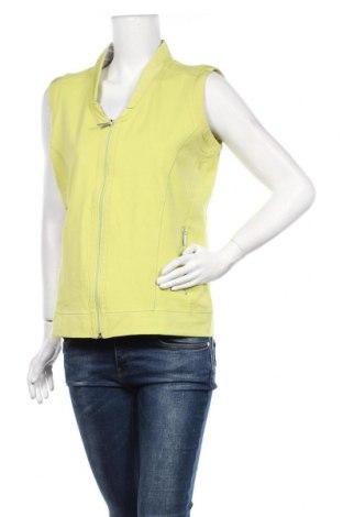 Vestă de femei Bonita, Mărime M, Culoare Verde, 92% bumbac, 8% elastan, Preț 146,38 Lei