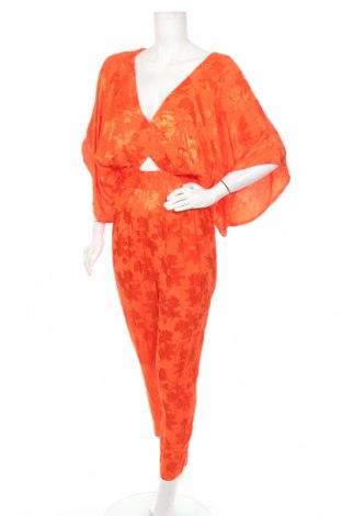 Дамски гащеризон ASOS, Размер S, Цвят Оранжев, Вискоза, Цена 31,24лв.