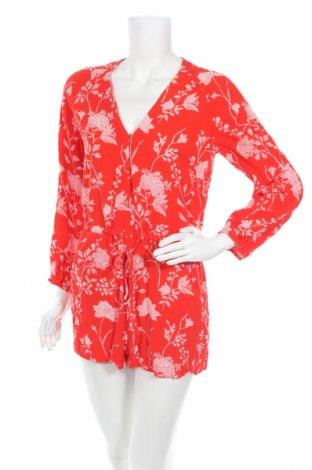 Salopetă de femei H&M, Mărime M, Culoare Roșu, Viscoză, Preț 19,90 Lei