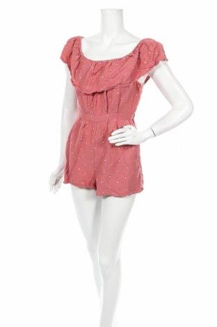 Salopetă de femei Jack Wills, Mărime M, Culoare Roz, 55% in, 45% viscoză, Preț 24,87 Lei