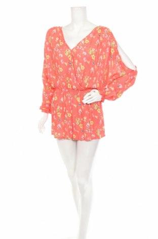 Salopetă de femei Mango, Mărime M, Culoare Multicolor, Viscoză, Preț 10,39 Lei