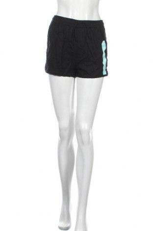 Дамски къс панталон Brilliant, Размер L, Цвят Черен, Лен, вискоза, Цена 8,40лв.