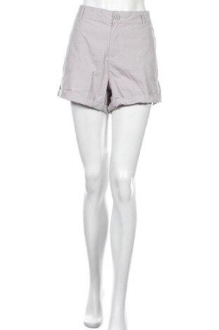 Дамски къс панталон Brilliant, Размер XL, Цвят Сив, Памук, Цена 31,92лв.
