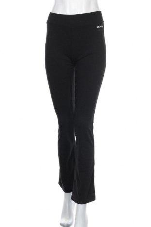 Дамско спортно долнище, Размер M, Цвят Черен, Памук, еластан, Цена 16,80лв.