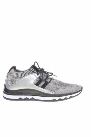 Γυναικεία παπούτσια Armani Exchange, Μέγεθος 38, Χρώμα Ασημί, Κλωστοϋφαντουργικά προϊόντα, δερματίνη, Τιμή 71,81€