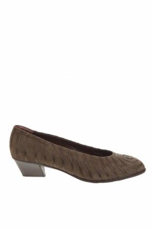 Дамски обувки Baldinini, Размер 42, Цвят Зелен, Естествен велур, Цена 96,52лв.