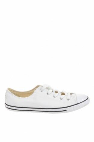 Încălțăminte de damă Converse, Mărime 42, Culoare Alb, Textil, Preț 90,03 Lei