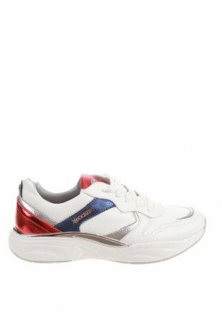Γυναικεία παπούτσια Dockers by Gerli, Μέγεθος 37, Χρώμα Λευκό, Δερματίνη, Τιμή 16,01€