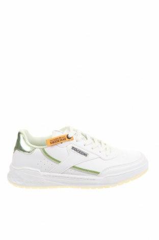 Дамски обувки Dockers by Gerli, Размер 37, Цвят Бял, Еко кожа, Цена 26,86лв.