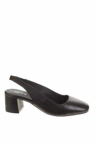 Дамски обувки Edited, Размер 37, Цвят Черен, Естествена кожа, Цена 49,02лв.