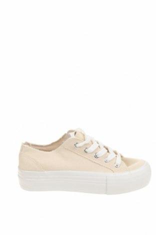 Γυναικεία παπούτσια Even&Odd, Μέγεθος 37, Χρώμα  Μπέζ, Κλωστοϋφαντουργικά προϊόντα, Τιμή 14,40€