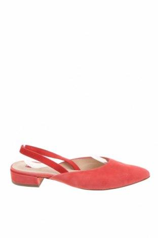 Дамски обувки Hogl, Размер 36, Цвят Розов, Естествен велур, Цена 62,25лв.