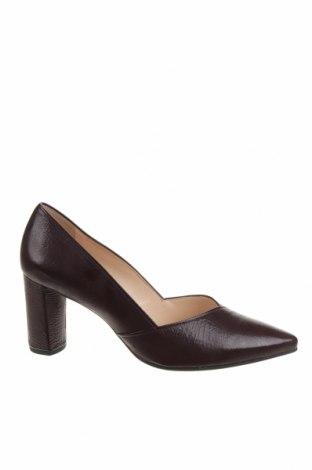 Дамски обувки Hogl, Размер 40, Цвят Червен, Естествена кожа, Цена 69,72лв.