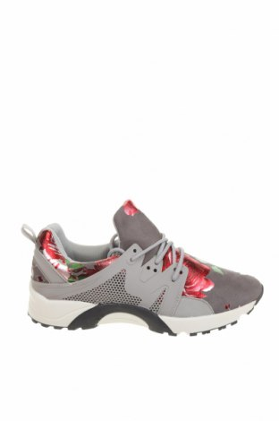 Дамски обувки Hot Soles, Размер 40, Цвят Сив, Текстил, полиуретан, Цена 59,25лв.