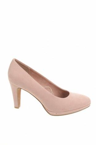 Дамски обувки Marco Tozzi, Размер 41, Цвят Розов, Текстил, Цена 32,75лв.