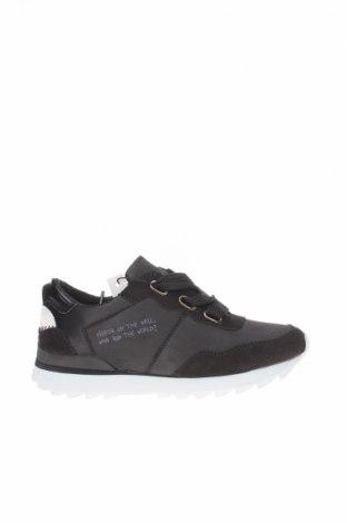 Дамски обувки Maria Mare, Размер 35, Цвят Черен, Текстил, Цена 34,22лв.