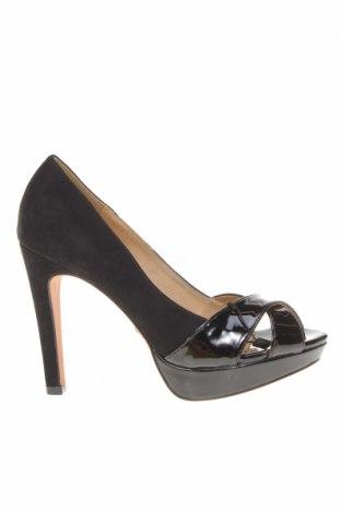 Дамски обувки Maria Mare, Размер 36, Цвят Черен, Еко кожа, текстил, Цена 44,24лв.