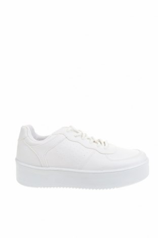 Дамски обувки NLY, Размер 39, Цвят Бял, Еко кожа, Цена 42,10лв.