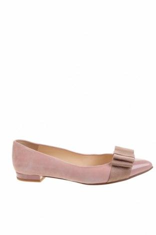 Dámské boty  Paco Gil, Velikost 39, Barva Růžová, Přírodní velur , pravá kůže, textile , Cena  1311,00Kč