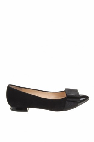 Γυναικεία παπούτσια Paco Gil, Μέγεθος 35, Χρώμα Μαύρο, Φυσικό σουέτ, κλωστοϋφαντουργικά προϊόντα, Τιμή 26,85€