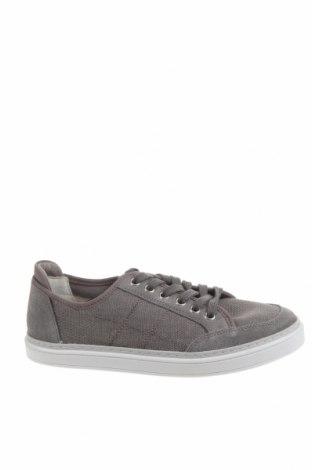 Дамски обувки Pier One, Размер 37, Цвят Сив, Текстил, естествен велур, Цена 49,50лв.