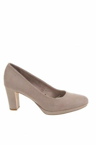 Дамски обувки Tamaris, Размер 40, Цвят Сив, Текстил, Цена 40,59лв.