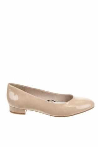 Дамски обувки Tamaris, Размер 38, Цвят Бежов, Еко кожа, Цена 35,55лв.