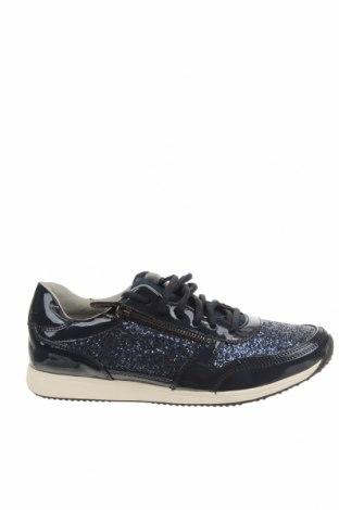 Дамски обувки Tamaris, Размер 41, Цвят Син, Текстил, еко кожа, Цена 42,57лв.