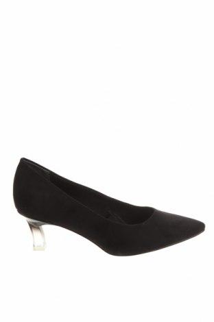 Дамски обувки Tamaris, Размер 38, Цвят Черен, Текстил, Цена 31,15лв.