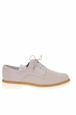 Дамски обувки Tamaris, Размер 40, Цвят Сив, Естествен велур, Цена 70,95лв.