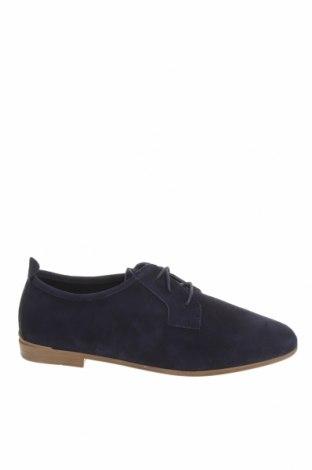 Дамски обувки Tamaris, Размер 40, Цвят Син, Естествен велур, Цена 96,75лв.