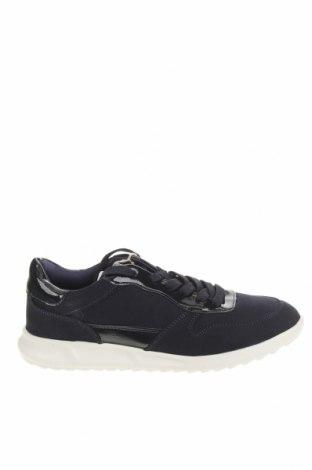 Дамски обувки Tamaris, Размер 38, Цвят Син, Текстил, еко кожа, Цена 45,82лв.