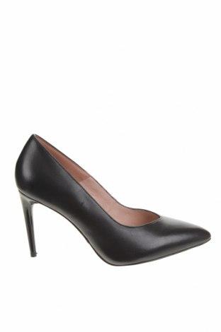 Дамски обувки Tamaris, Размер 40, Цвят Черен, Естествена кожа, Цена 96,75лв.